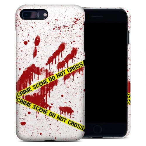 Crime Scene Revisited iPhone 7 Plus Clip Case