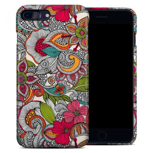Doodles Color iPhone 8 Plus Clip Case
