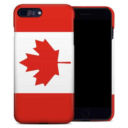 Canadian Flag iPhone 8 Plus Clip Case