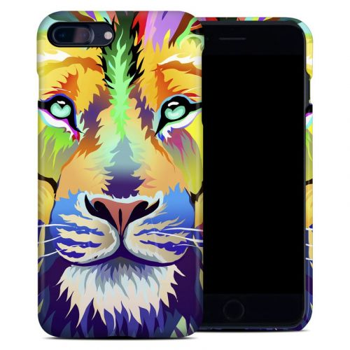 King of Technicolor iPhone 8 Plus Clip Case