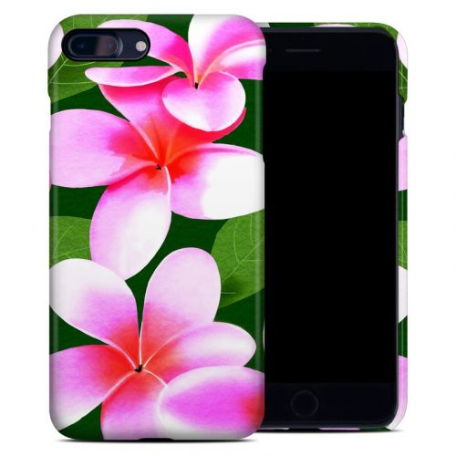 Pink Plumerias iPhone 8 Plus Clip Case
