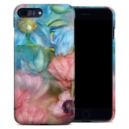 Poppy Garden iPhone 8 Plus Clip Case