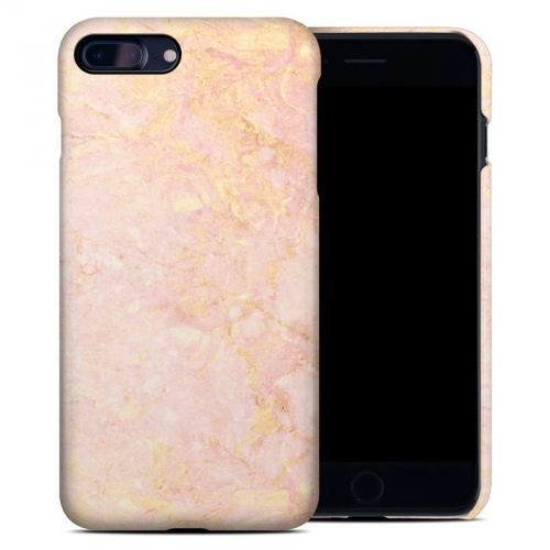 Rose Gold Marble iPhone 8 Plus Clip Case
