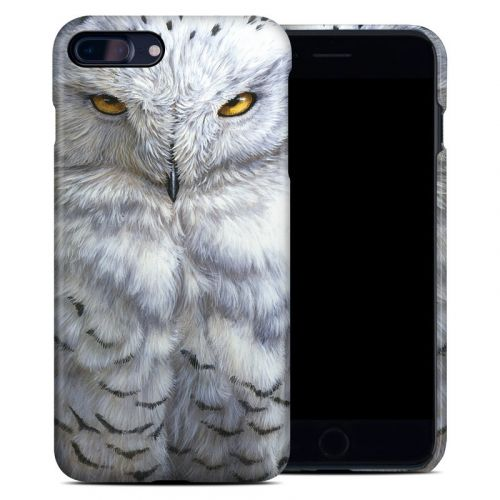 Snowy Owl iPhone 8 Plus Clip Case