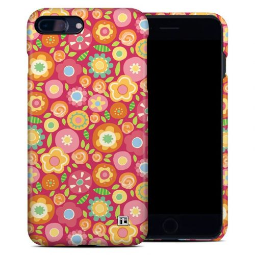 Flowers Squished iPhone 7 Plus Clip Case