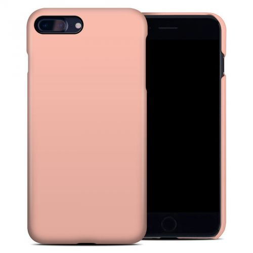 Solid State Peach iPhone 8 Plus Clip Case