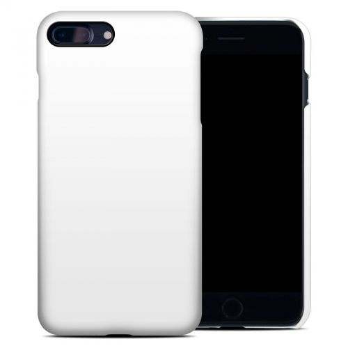 Solid State White iPhone 8 Plus Clip Case