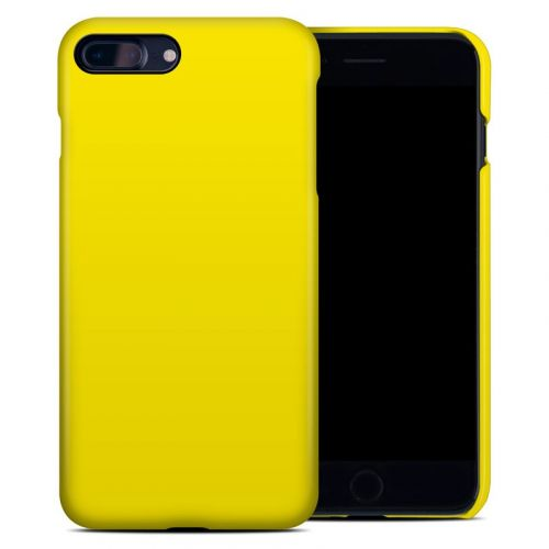 Solid State Yellow iPhone 8 Plus Clip Case