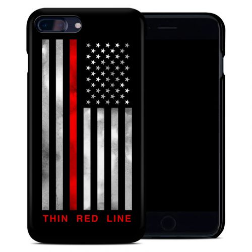 Thin Red Line iPhone 8 Plus Clip Case