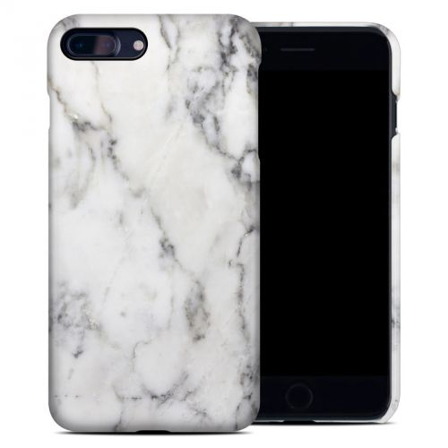 White Marble iPhone 8 Plus Clip Case