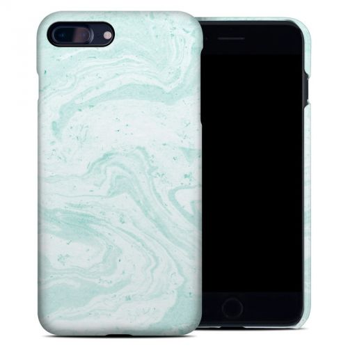 Winter Green Marble iPhone 7 Plus Clip Case
