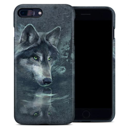 Wolf Reflection iPhone 8 Plus Clip Case