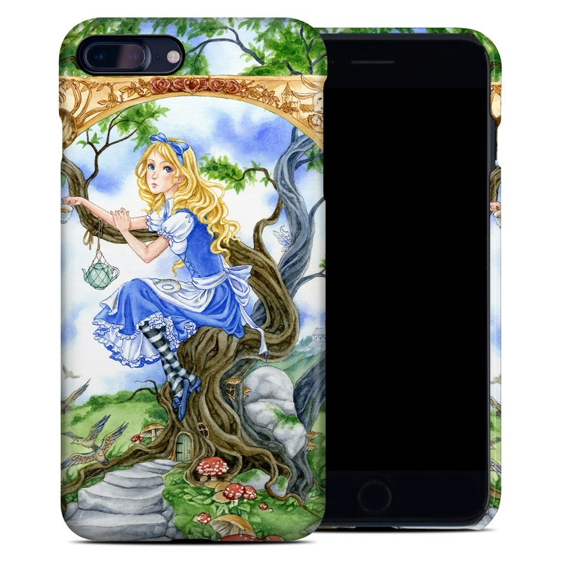 iPhone 8 Plus Clip Case design of Mythology, Illustration, Fictional character, Cg artwork, Art, Plant, Painting with blue, green, brown, gray, white colors