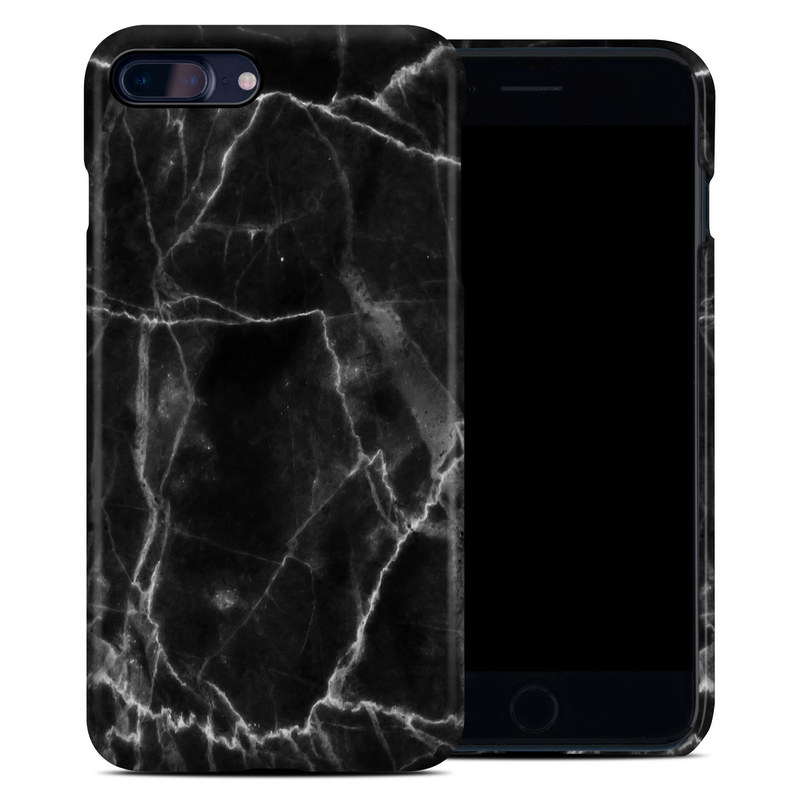 reputable site 34f16 7991e Black Marble iPhone 8 Plus Clip Case