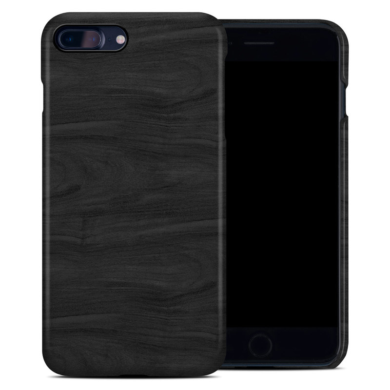 iPhone 8 Plus Clip Case design of Black, Brown, Wood, Grey, Flooring, Floor, Laminate flooring, Wood flooring with black colors