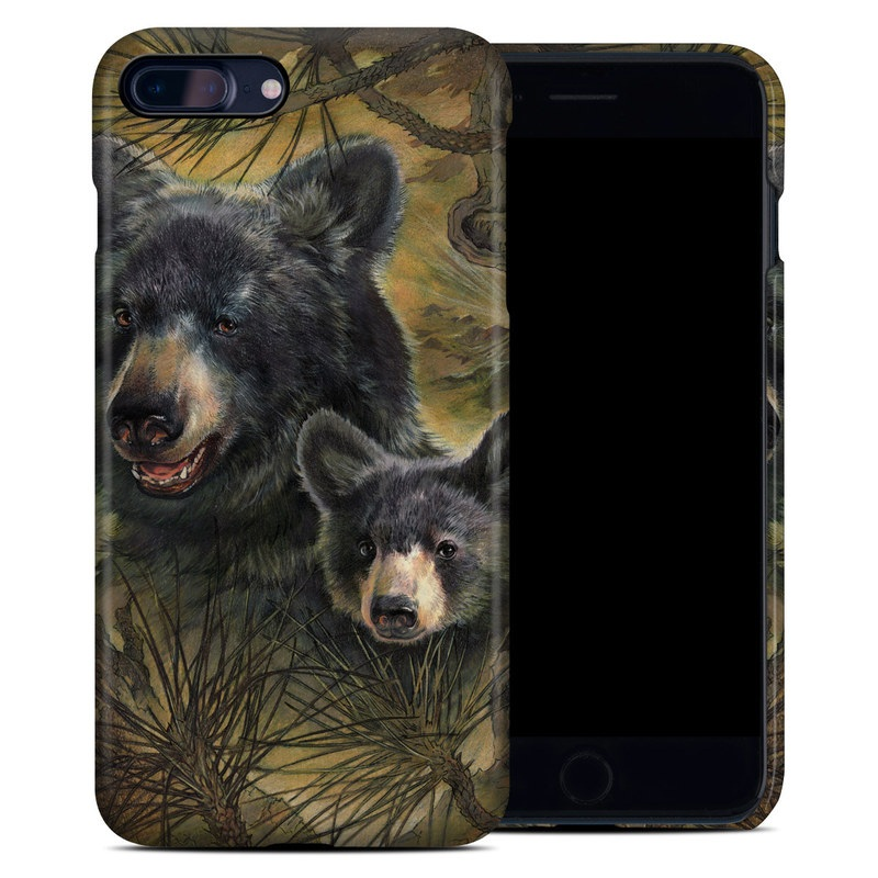 Black Bears iPhone 7 Plus Clip Case