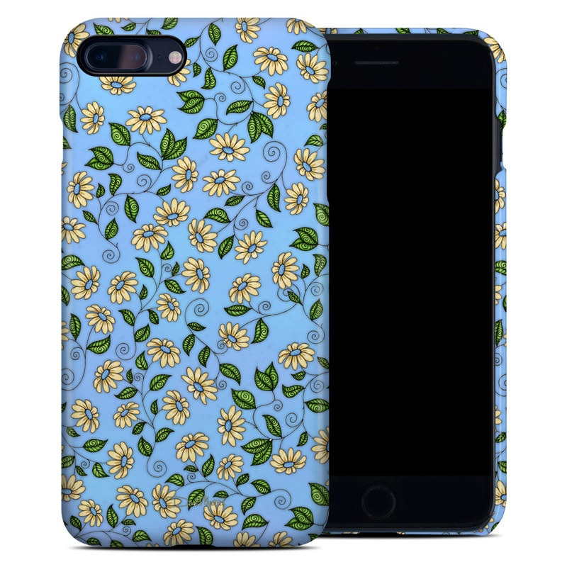 Blue Daisy iPhone 8 Plus Clip Case