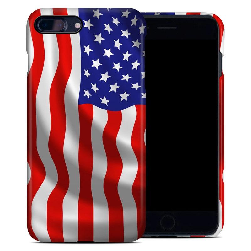 USA Flag iPhone 7 Plus Clip Case