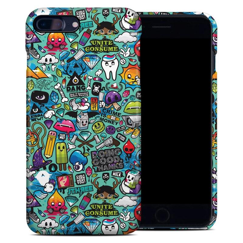 Jewel Thief iPhone 8 Plus Clip Case