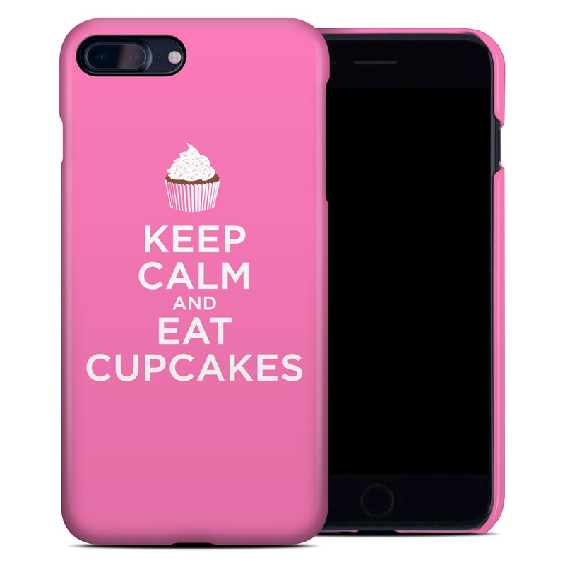 Keep Calm - Cupcakes iPhone 8 Plus Clip Case
