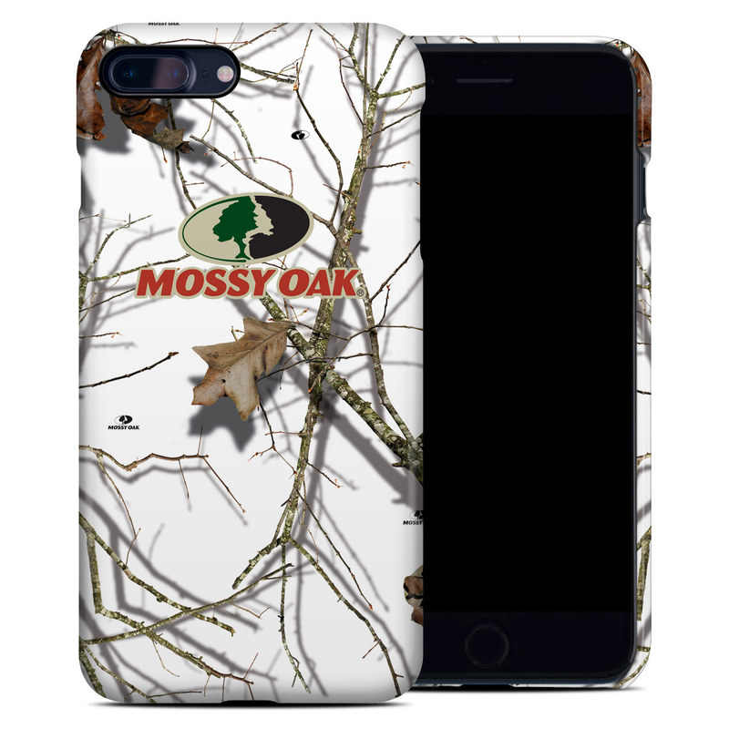 iPhone 8 Plus Clip Case design of Branch, Twig, Tree, Illustration, Plant, Art with white, gray, black, red, green colors