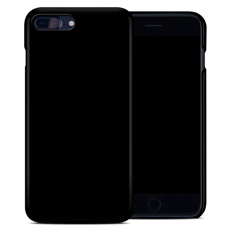 Solid State Black iPhone 8 Plus Clip Case