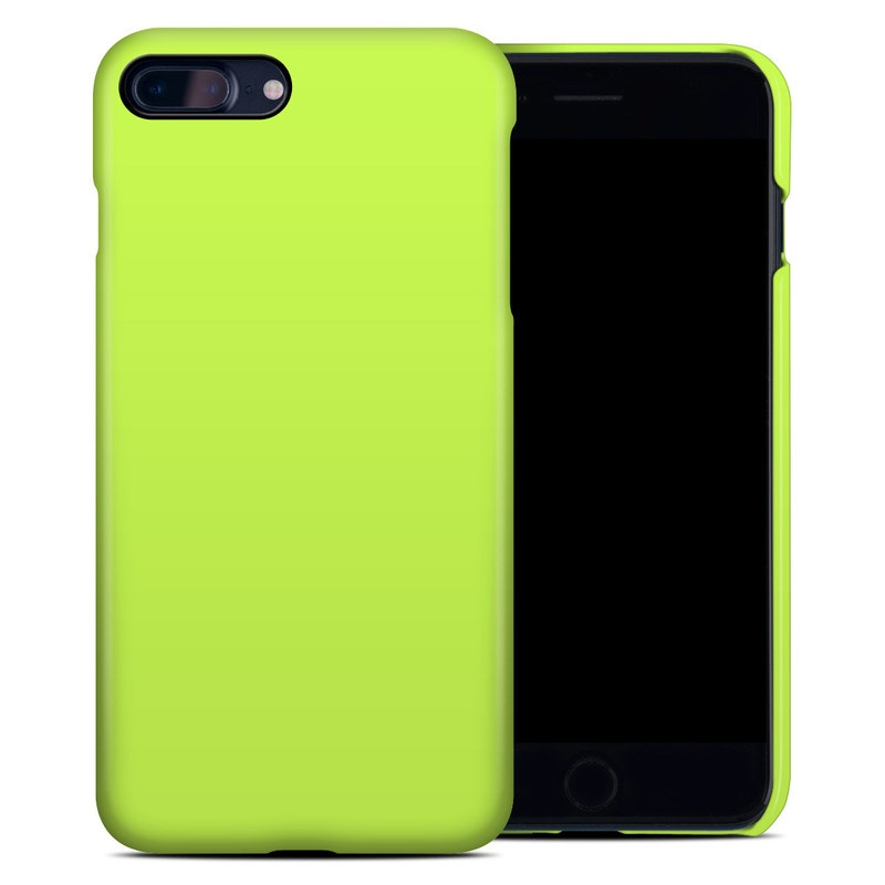 Solid State Lime iPhone 8 Plus Clip Case