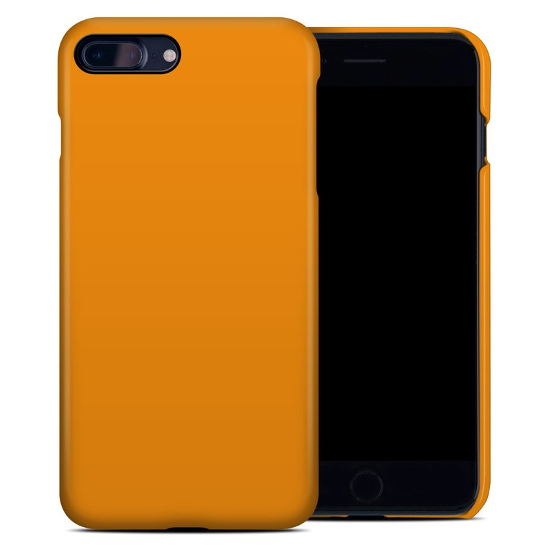 Solid State Orange iPhone 8 Plus Clip Case