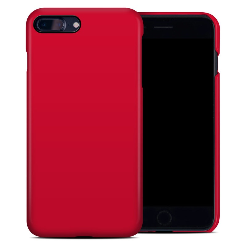 new concept b2d92 b4312 Solid State Red iPhone 8 Plus Clip Case