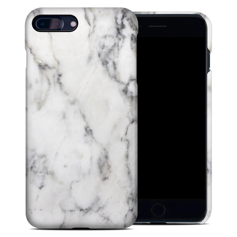 White Marble iPhone 7 Plus Clip Case
