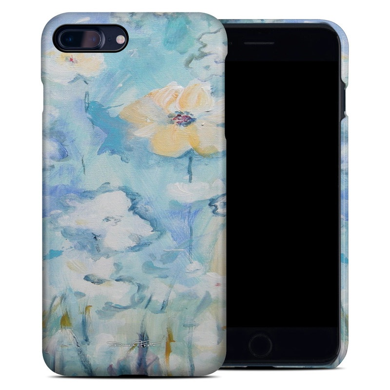 White & Blue iPhone 7 Plus Clip Case