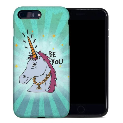 Be You Unicorn iPhone 8 Plus Hybrid Case