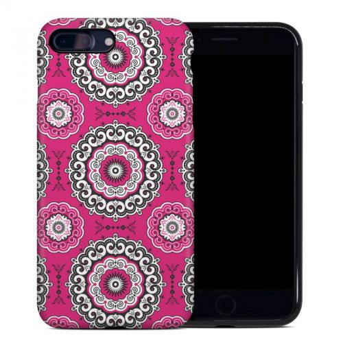 Boho Girl Medallions iPhone 7 Plus Hybrid Case