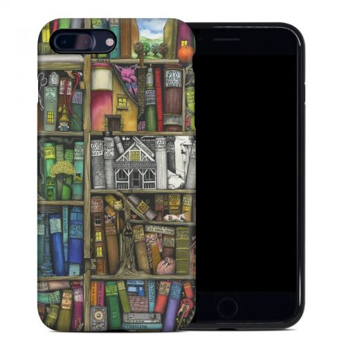 Bookshelf iPhone 8 Plus Hybrid Case
