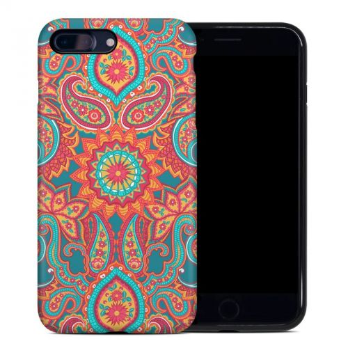 Carnival Paisley iPhone 7 Plus Hybrid Case