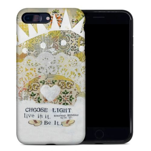 Choose Light iPhone 8 Plus Hybrid Case