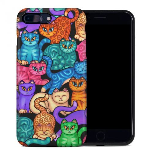 Colorful Kittens iPhone 8 Plus Hybrid Case