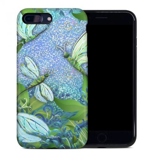 Dragonfly Fantasy iPhone 8 Plus Hybrid Case