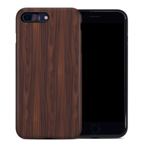 Dark Rosewood iPhone 7 Plus Hybrid Case