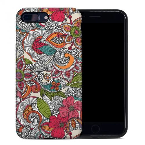 Doodles Color iPhone 8 Plus Hybrid Case