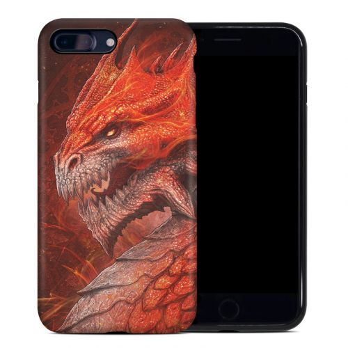 Flame Dragon iPhone 8 Plus Hybrid Case