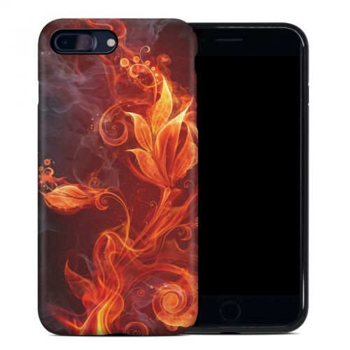 Flower Of Fire iPhone 8 Plus Hybrid Case