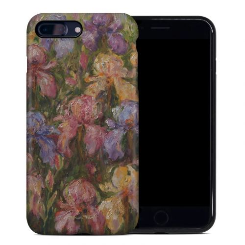 Field Of Irises iPhone 8 Plus Hybrid Case