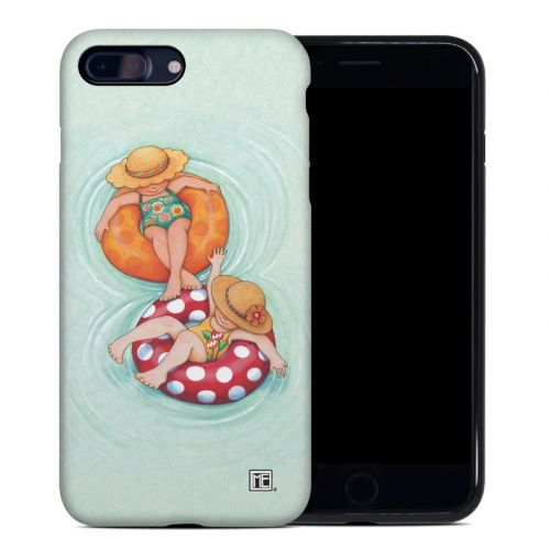 Inner Tube Girls iPhone 8 Plus Hybrid Case