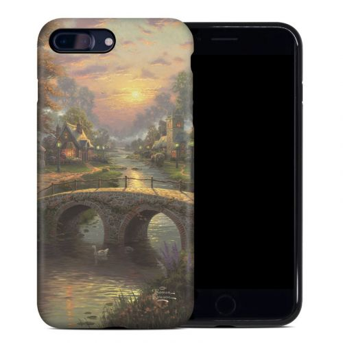 Sunset On Lamplight Lane iPhone 8 Plus Hybrid Case