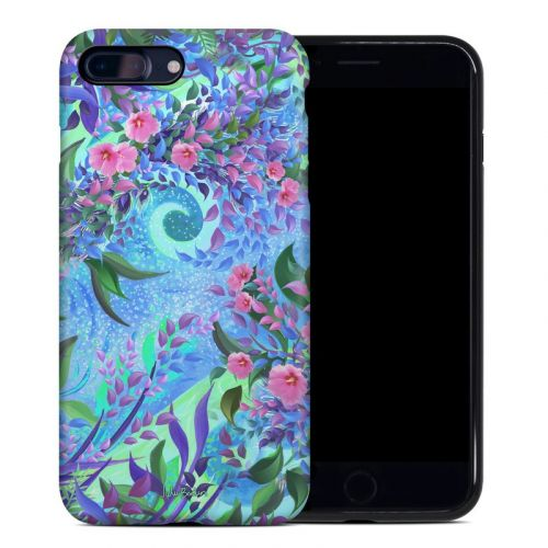 Lavender Flowers iPhone 8 Plus Hybrid Case
