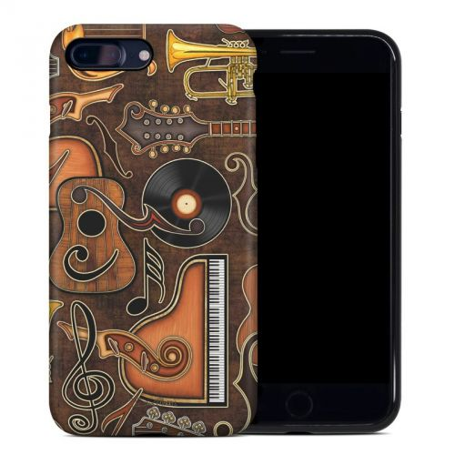 Music Elements iPhone 8 Plus Hybrid Case