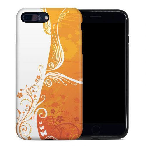 Orange Crush iPhone 8 Plus Hybrid Case