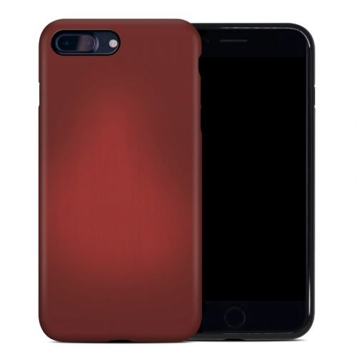 Red Burst iPhone 8 Plus Hybrid Case