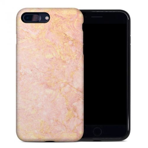 Rose Gold Marble iPhone 8 Plus Hybrid Case